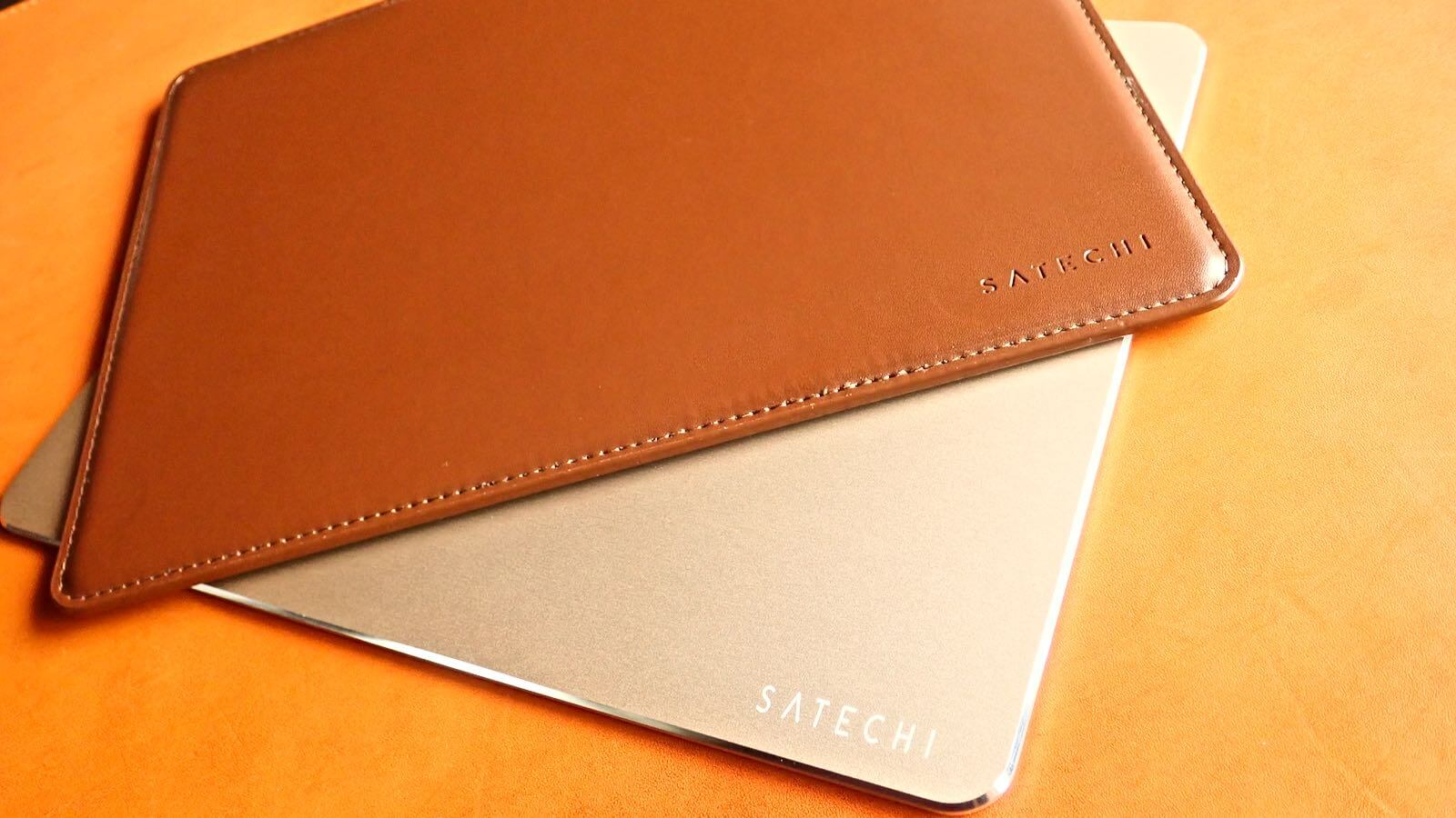 0196 Satechi Mouse pad Aluminum EcoLeather 17