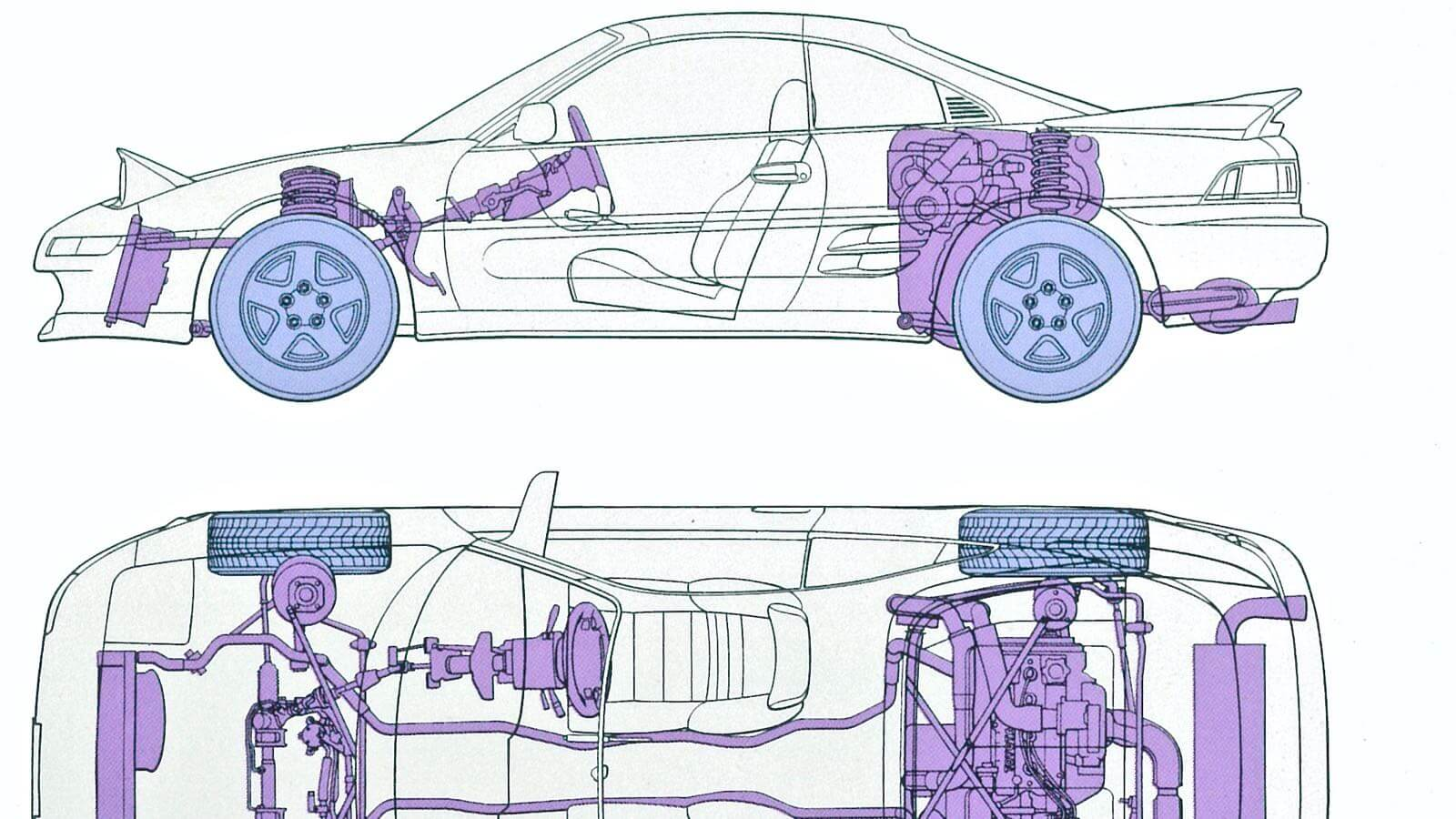 0125 MR2 restore plan  Part 3 01 MR2 Mid ship layout