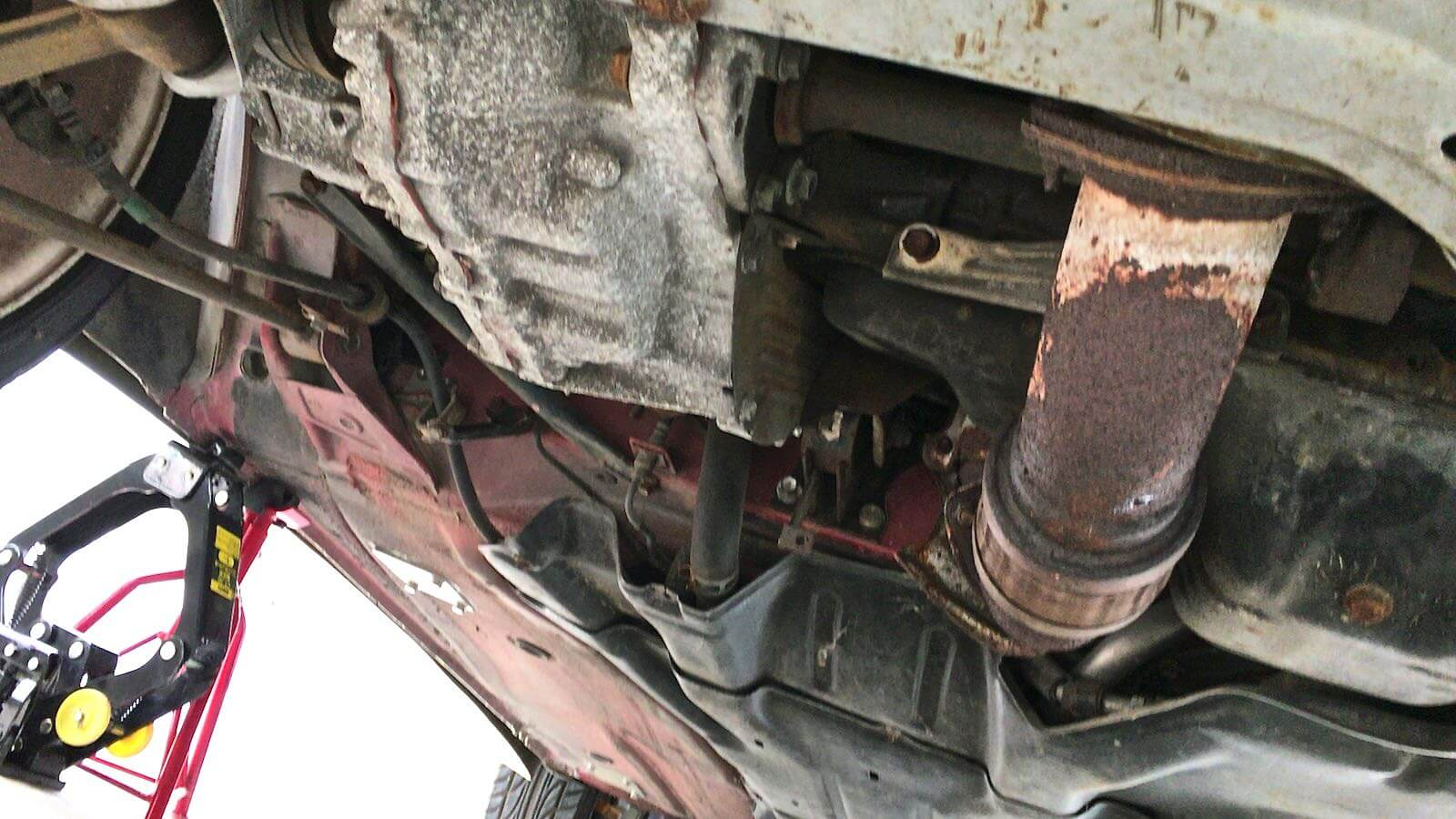 0136 MR2 Restore Plan  Part 12 14 SW20 Muffler exhaust leak