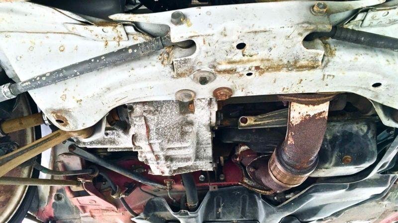 [0142] MR2復活計画『その15』8年放置した足回りと車体の下回りをチェック