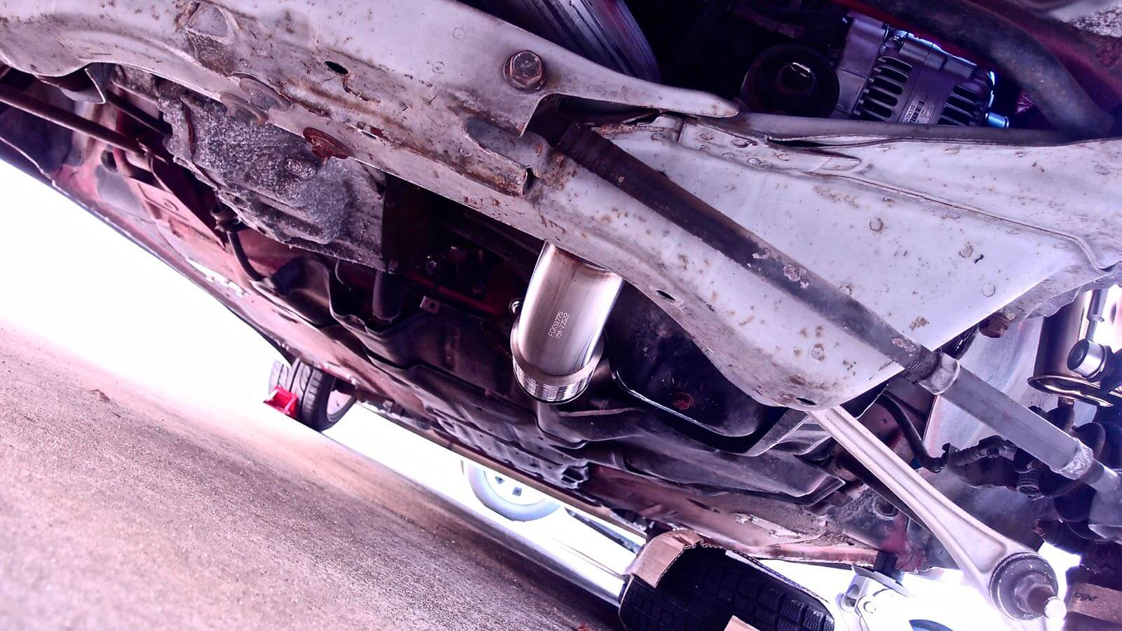 0143 MR2 Restore Plan  Part 16 16 SW20 After exchanging the muffler Regalis R
