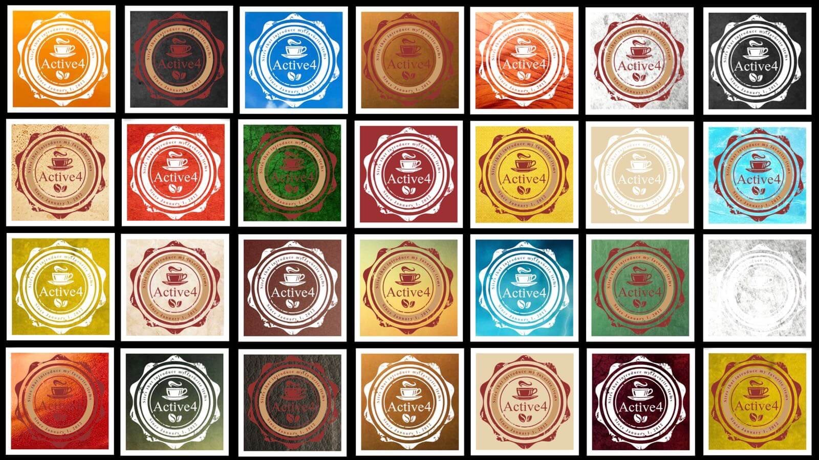 [0201] ココナラで作成したロゴに最適な背景を探す。カラーコーディネーターの意見も聞いてみたよ