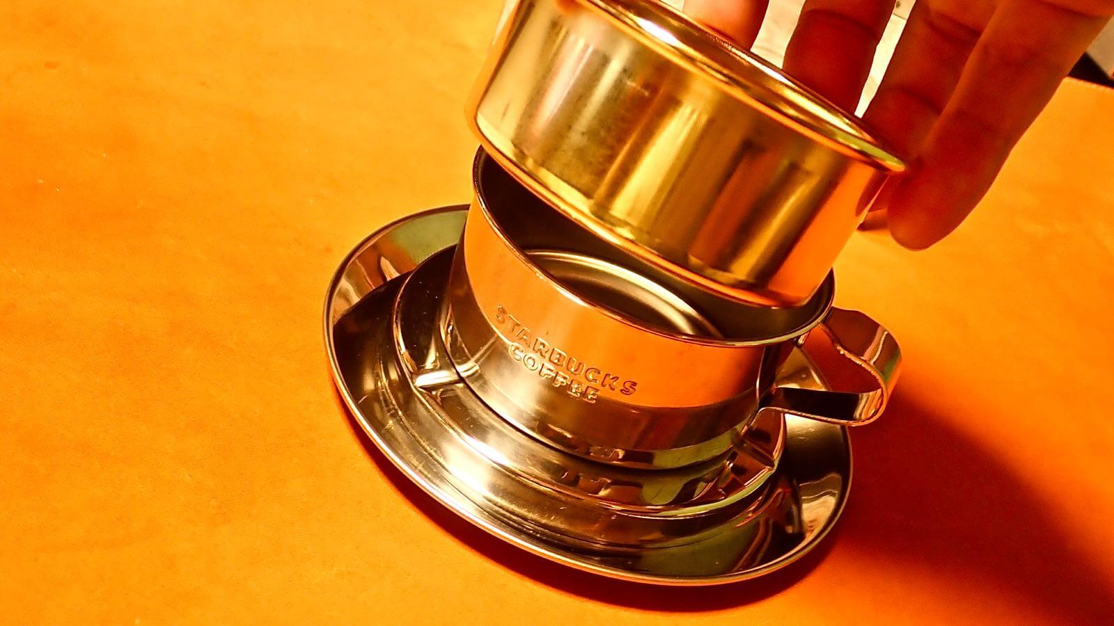 0008 Starbucks Stainless Steel Dripper  07