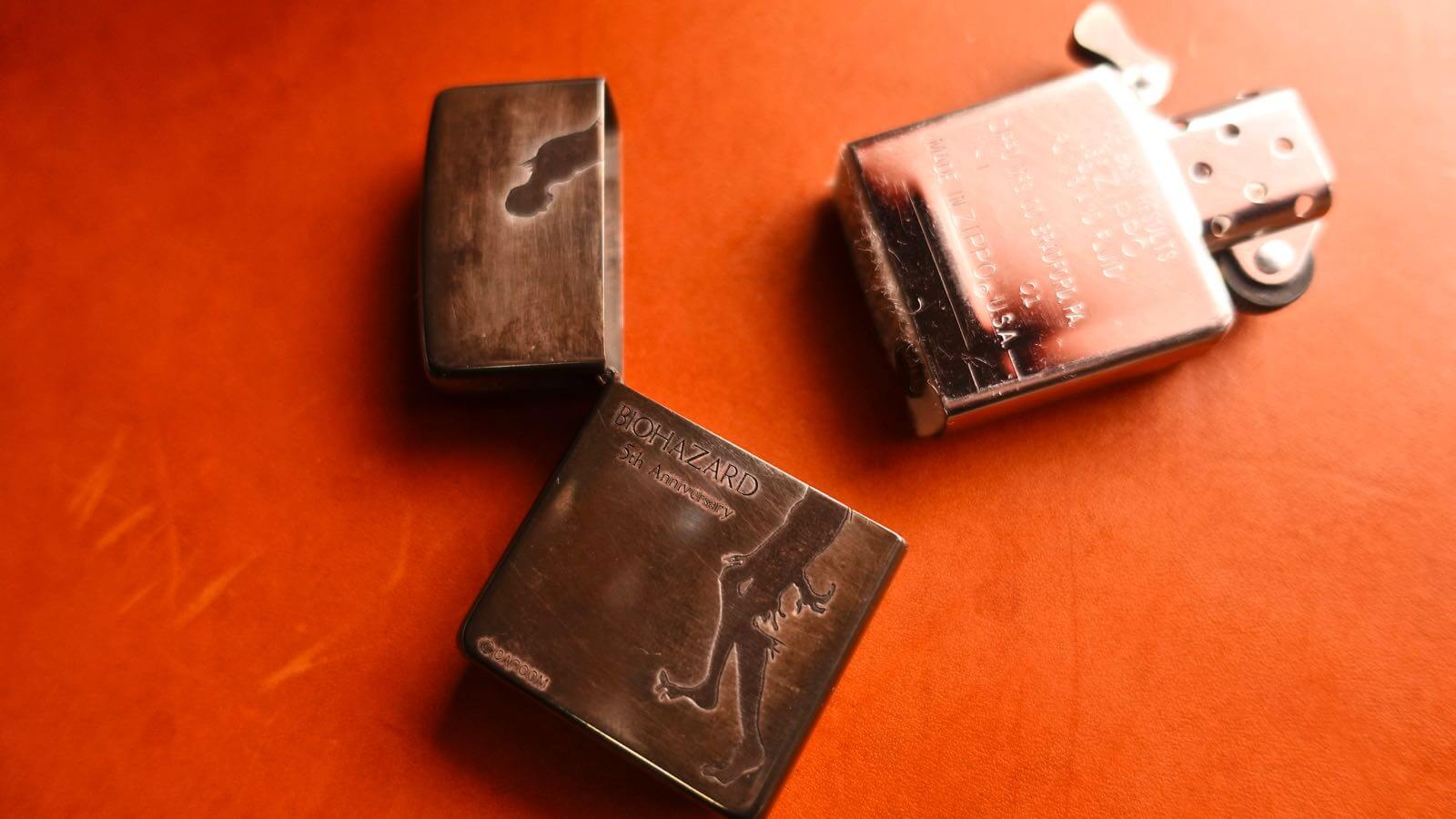 0012 Baiohazad 5th anniversary zippo collaboration 06