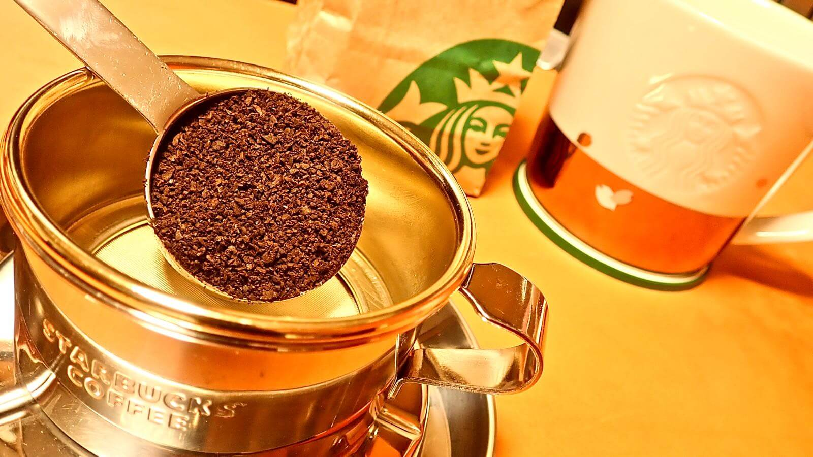 0014 Starbucks Stainless Dripper How to make delicious coffee 06