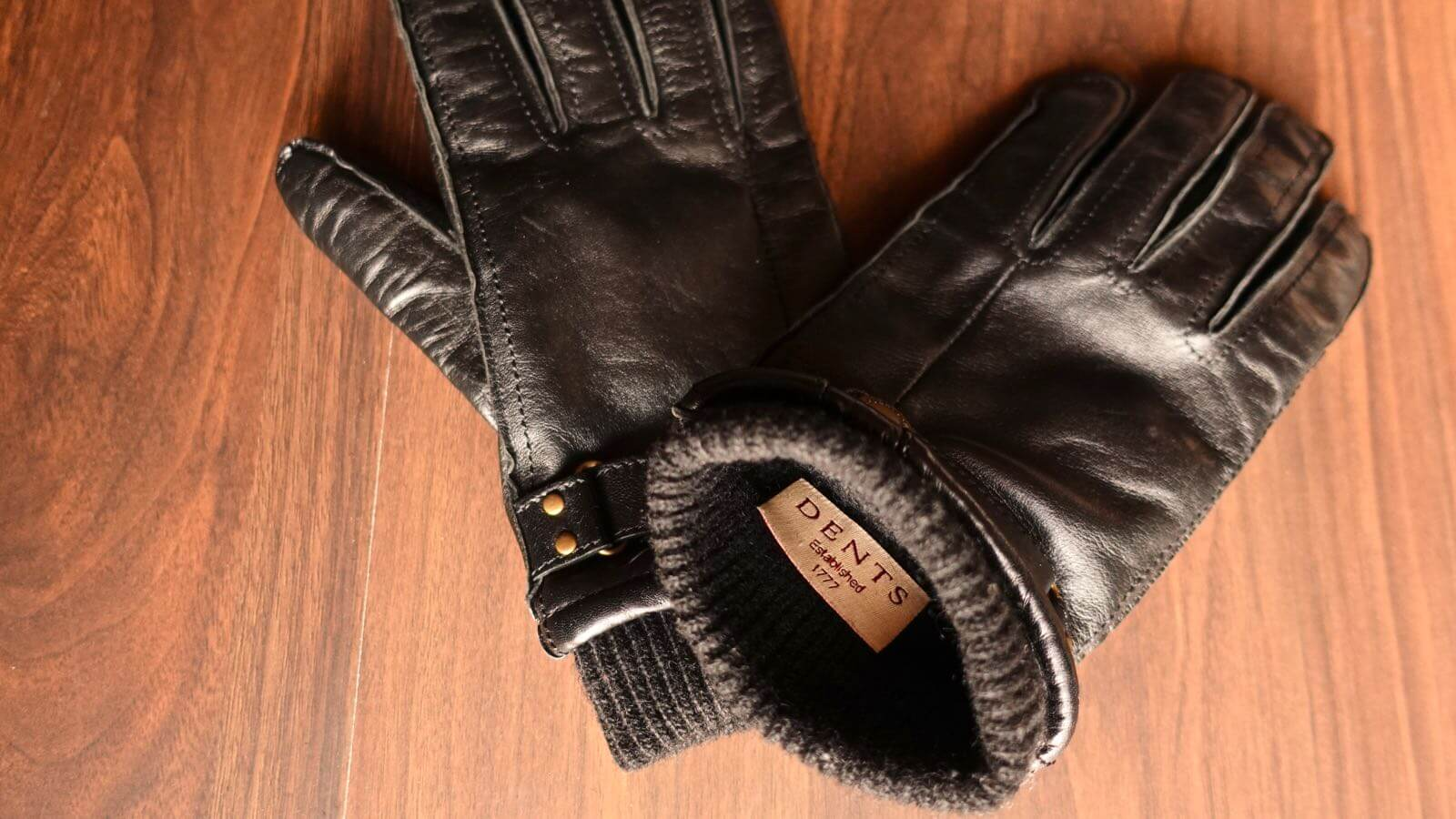 0055 DENTS men s leather gloves hair sheep 07