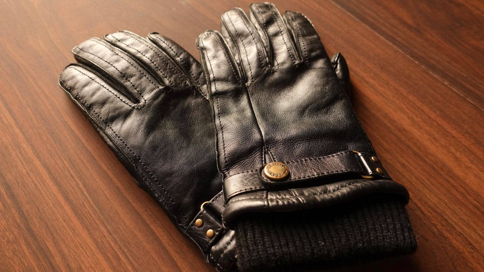 0055 DENTS men s leather gloves hair sheep 08