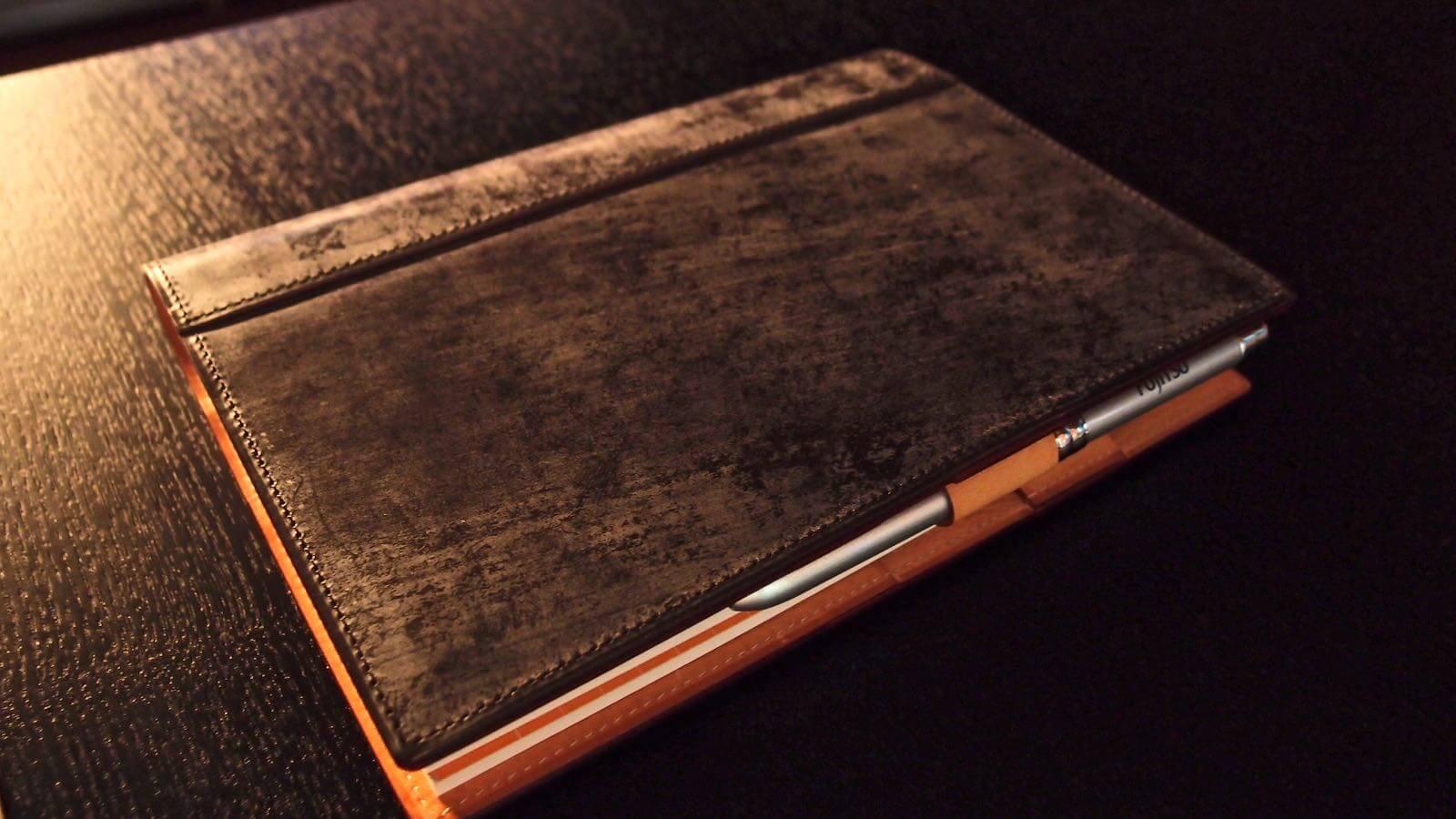 0097 Ganzo note cover liner Badarassi carlo minerva box 01