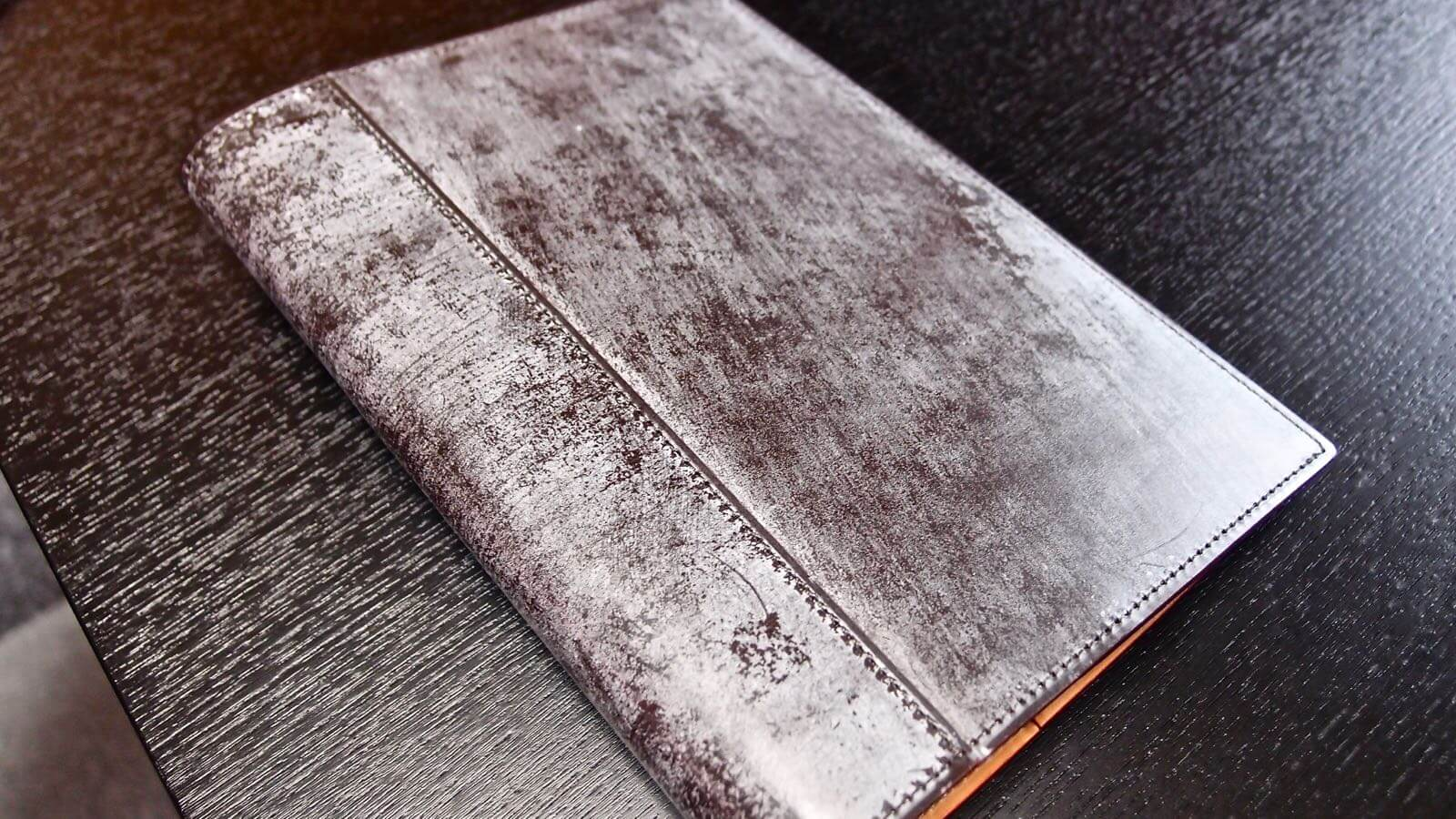 0097 Ganzo thin bridle Note cover 07