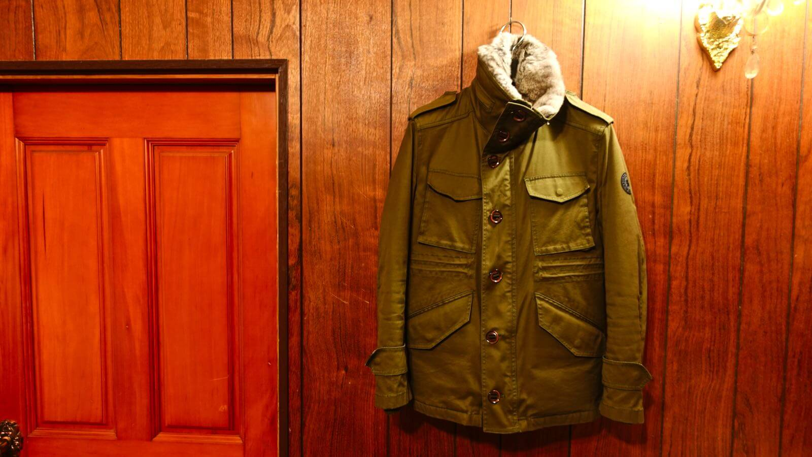 0111 Burberry Black Label M65 Military Jacket 04