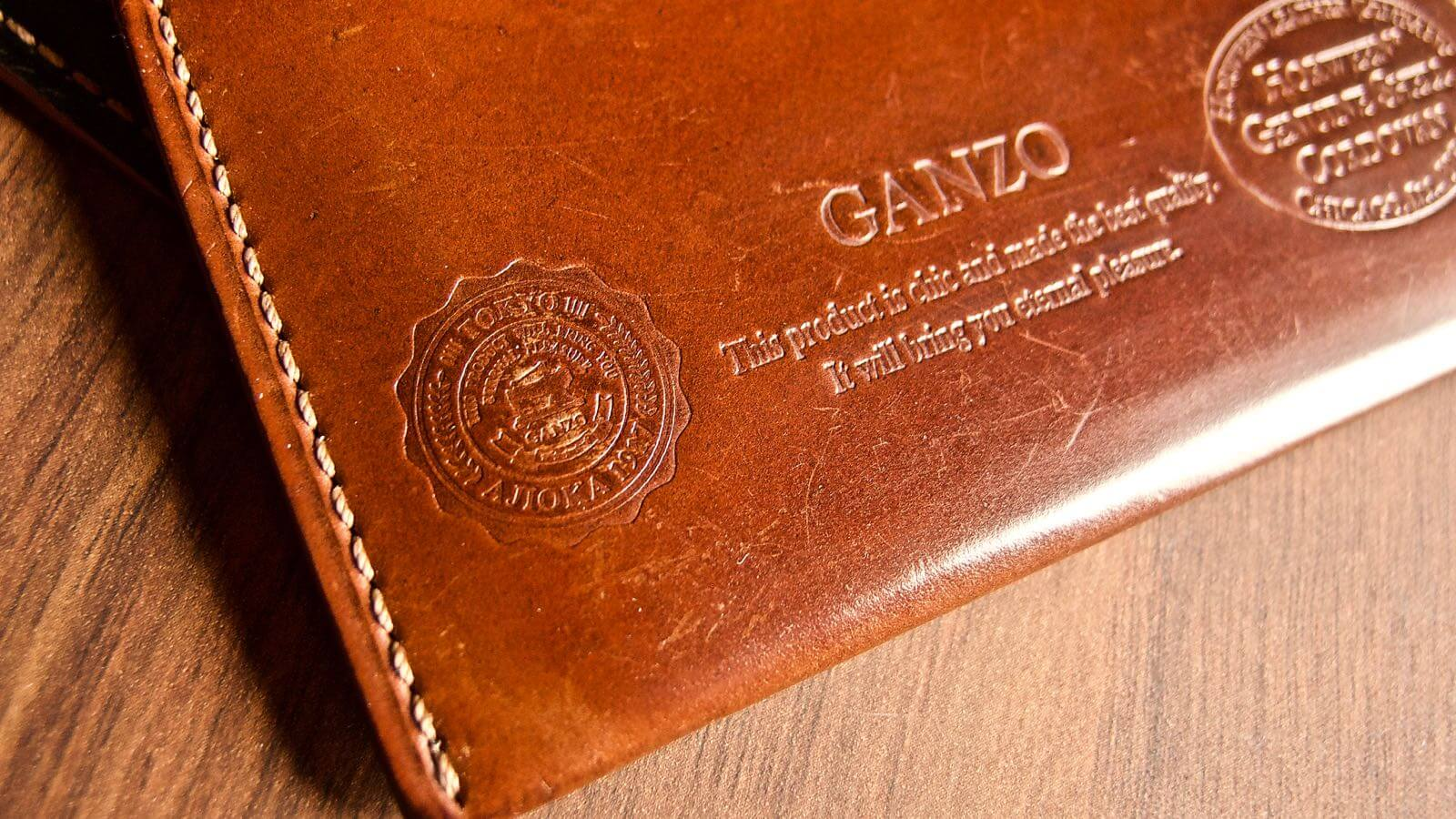 0037 Ganzo Shell Code Bank Business Card Holder 5 Years Aging 11