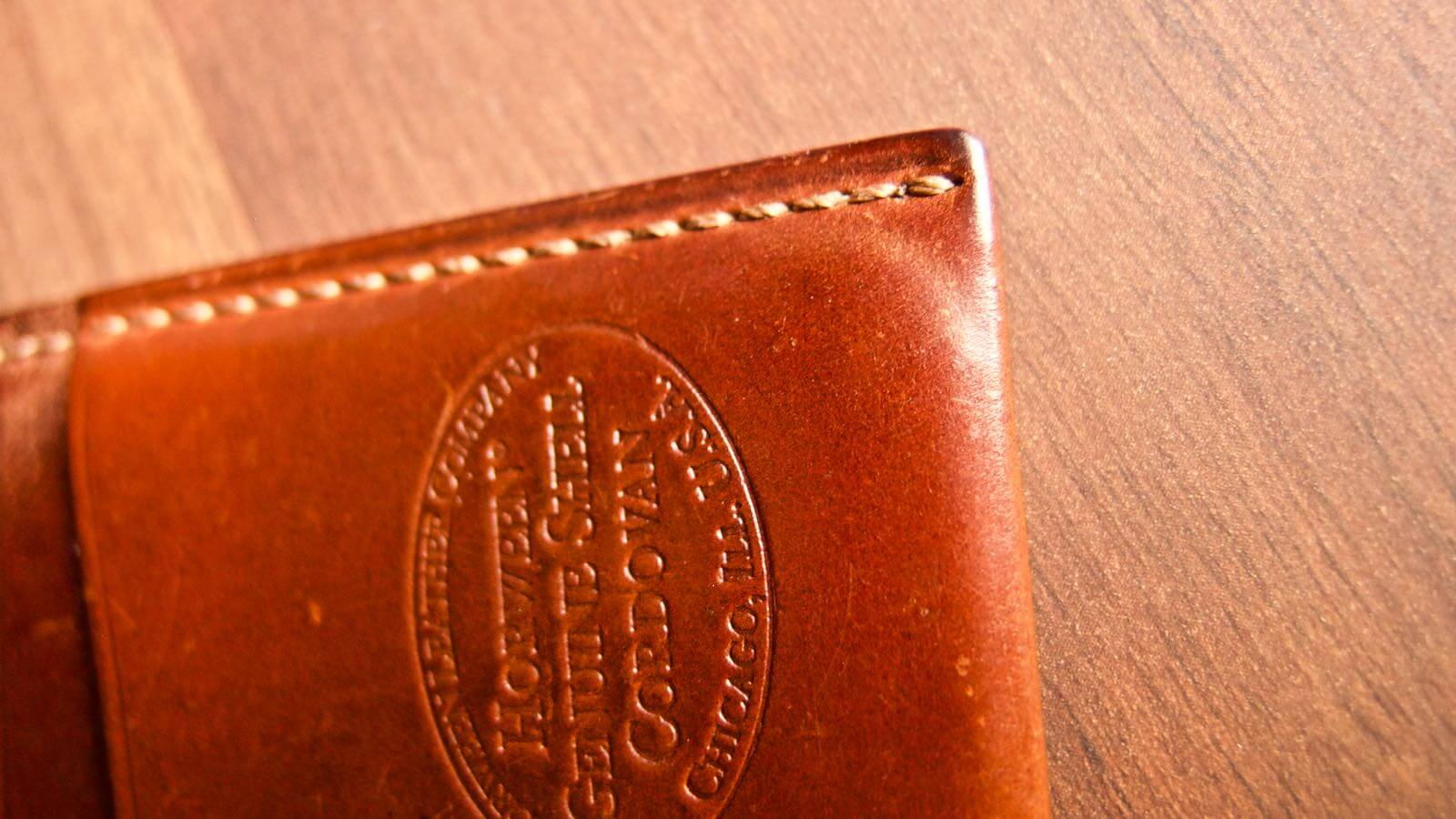 0037 Ganzo Shell Code Bank Business Card Holder 5 Years Aging 12