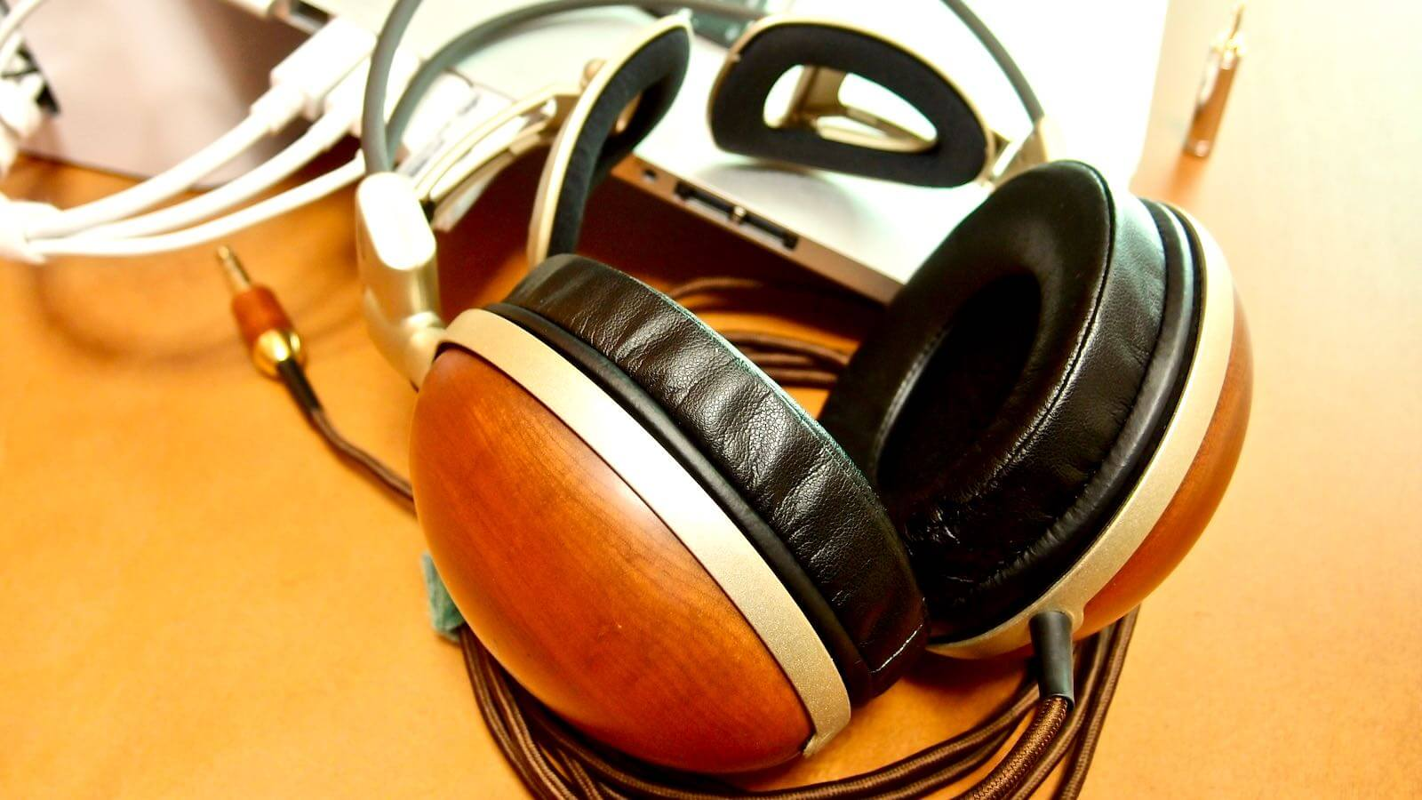 0078 After 10 years of Audio Technica Wooden Headphones ATH W100 09