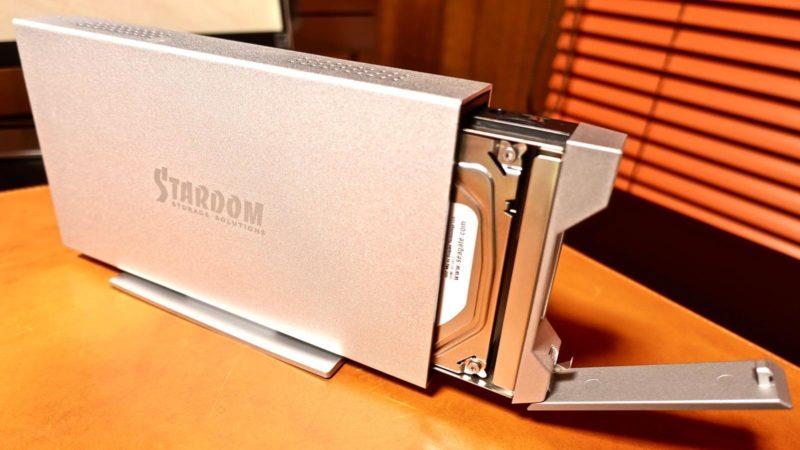 [0085] STARDOM iTANK i310 HDD実装&交換方法
