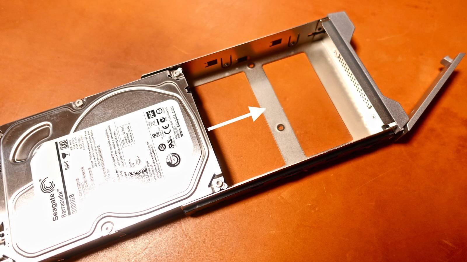0085 STARDOM iTANK I310 HDD replacement method 09