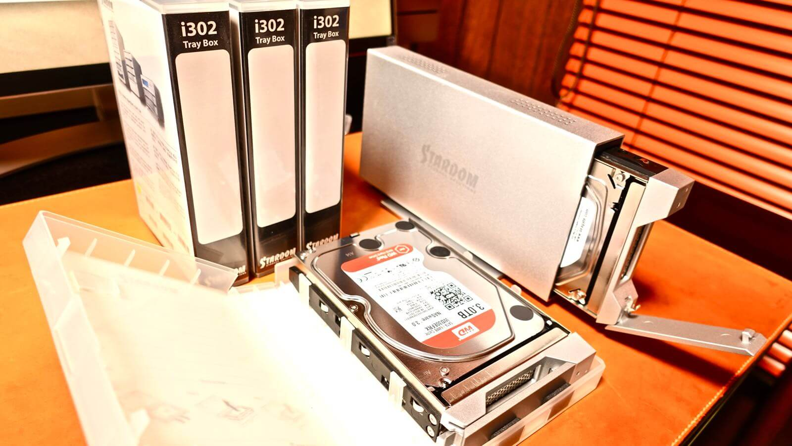 0085 STARDOM iTANK I310 HDD replacement method 16