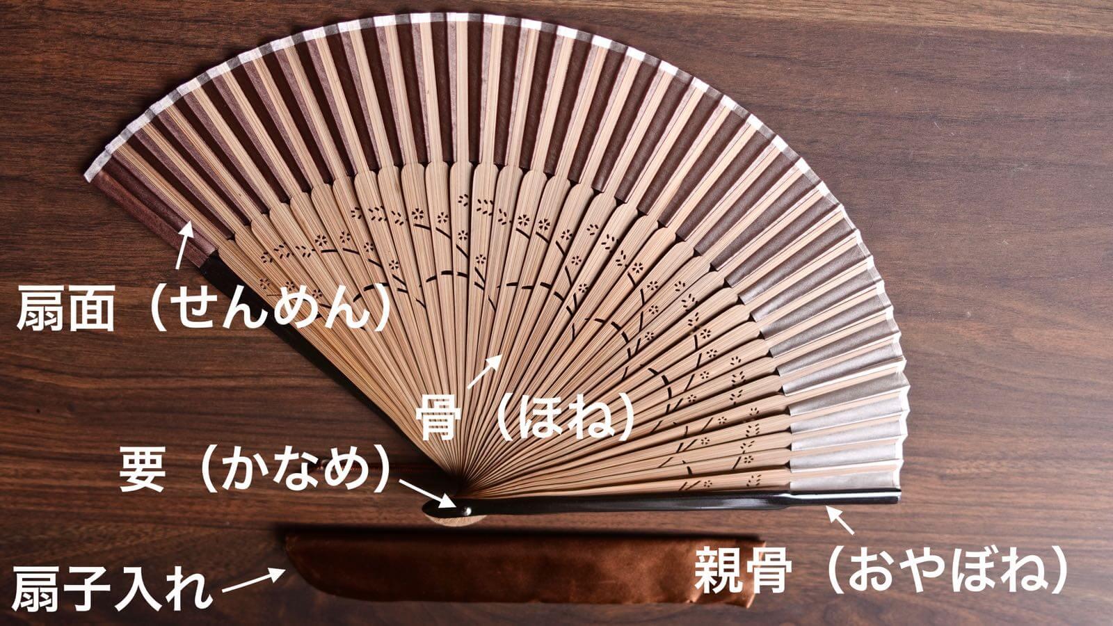 0094 Sakura Silk Folding fan Review 03