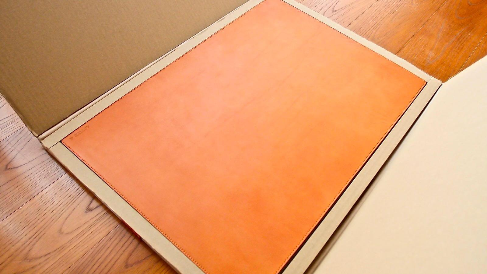 0110 Mikasa Leather Desk Matte Review 04