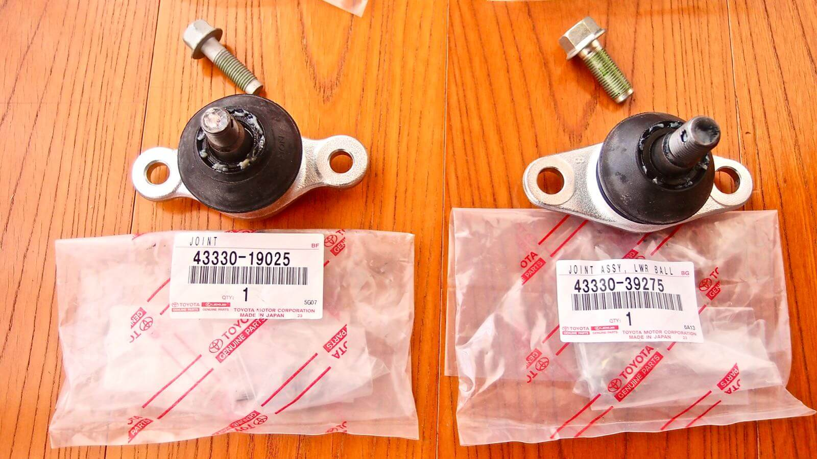 0152 MR2 Restore Plan  Part 24  Tierod end ball joint Exchange 09