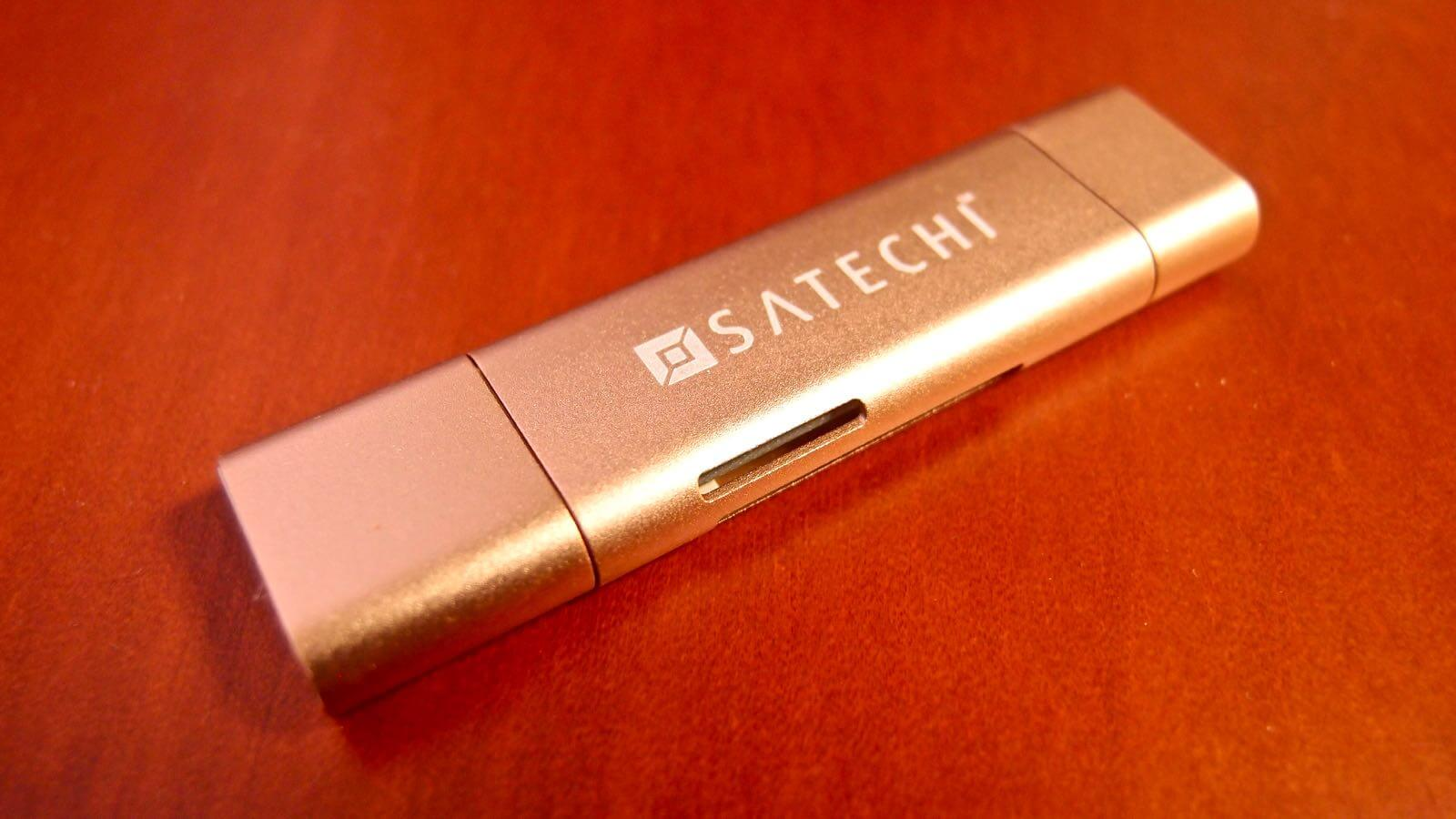 0164 10 SATECHI Type C plus USB3 0 USB Card Reader Review 05