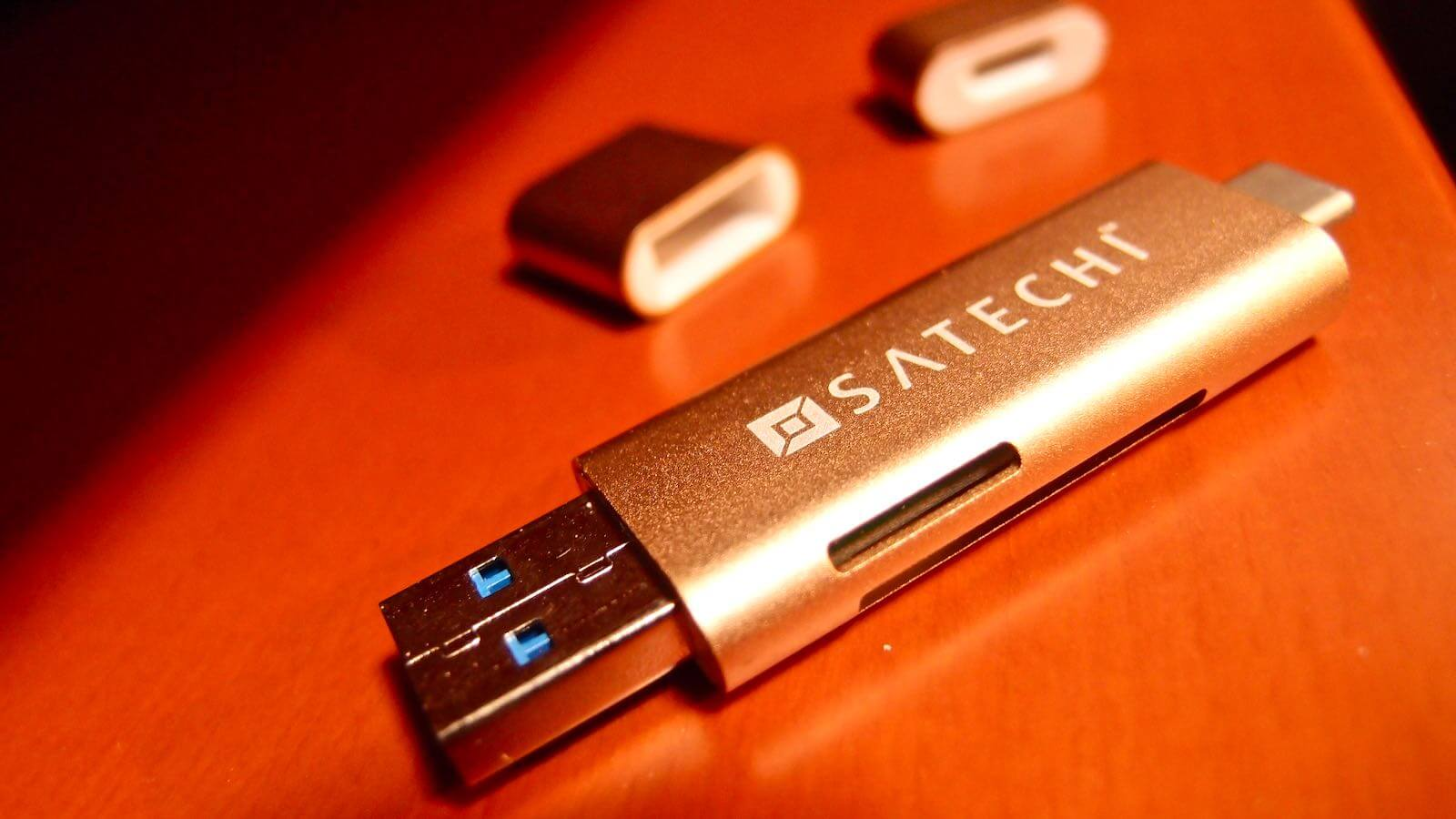 0164 10 SATECHI Type C plus USB3 0 USB Card Reader Review 06