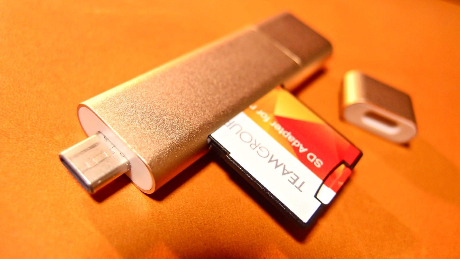 0164 10 SATECHI Type C plus USB3 0 USB Card Reader Review 09