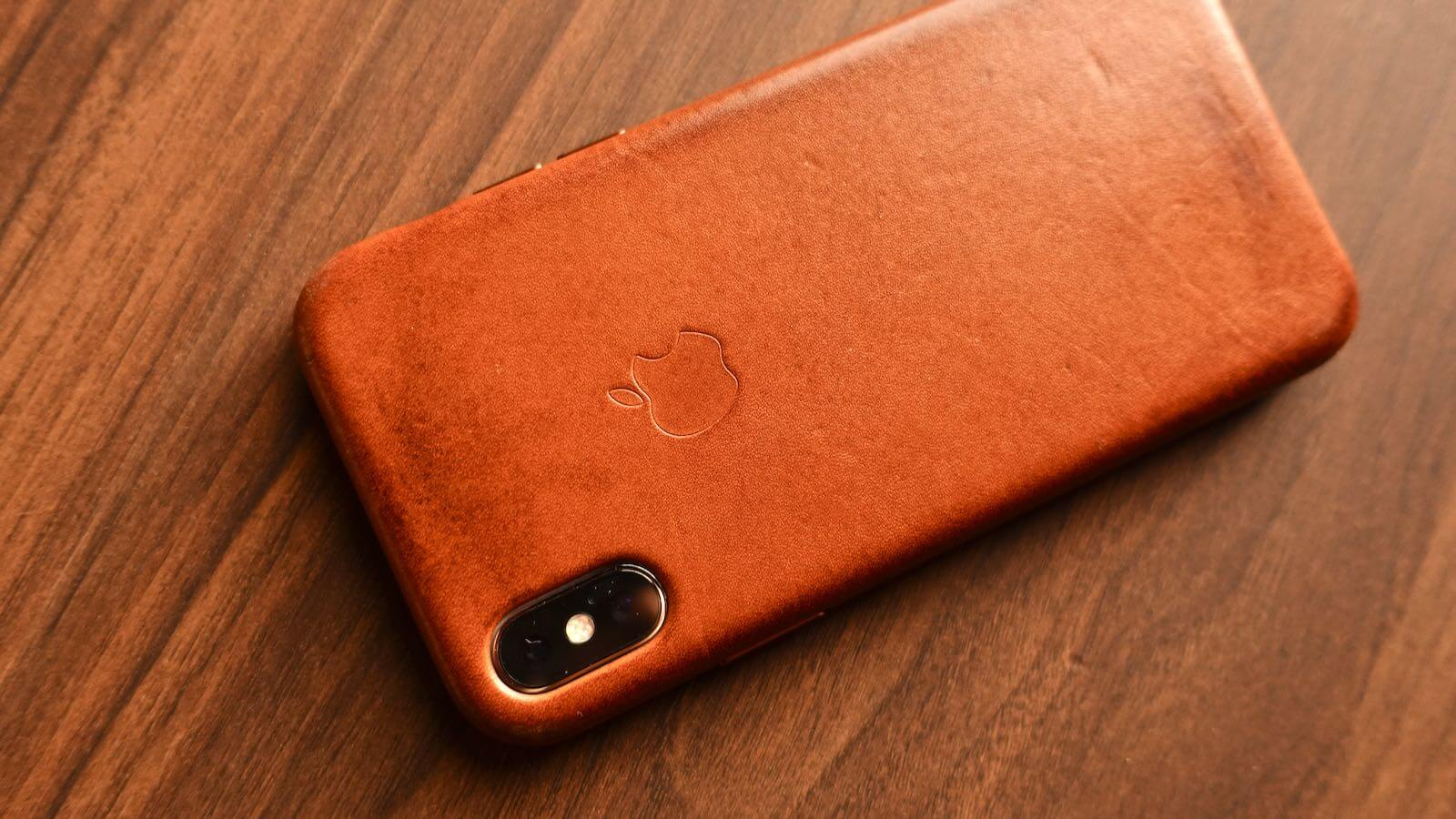 0215 iPhone Leather Case 20 A year later
