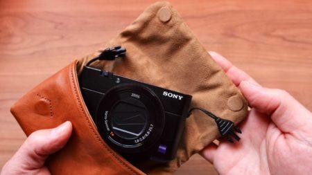 [0226] RX100M5Aをやさしく守る大人カッコいいカメラケース ユリシーズ クッシーノをレビュー!!