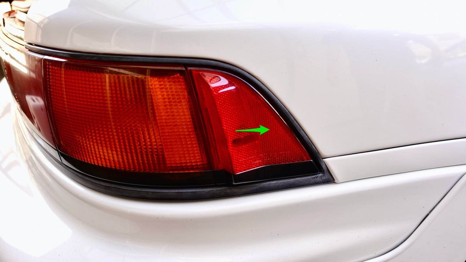 MR2 side marker removal method