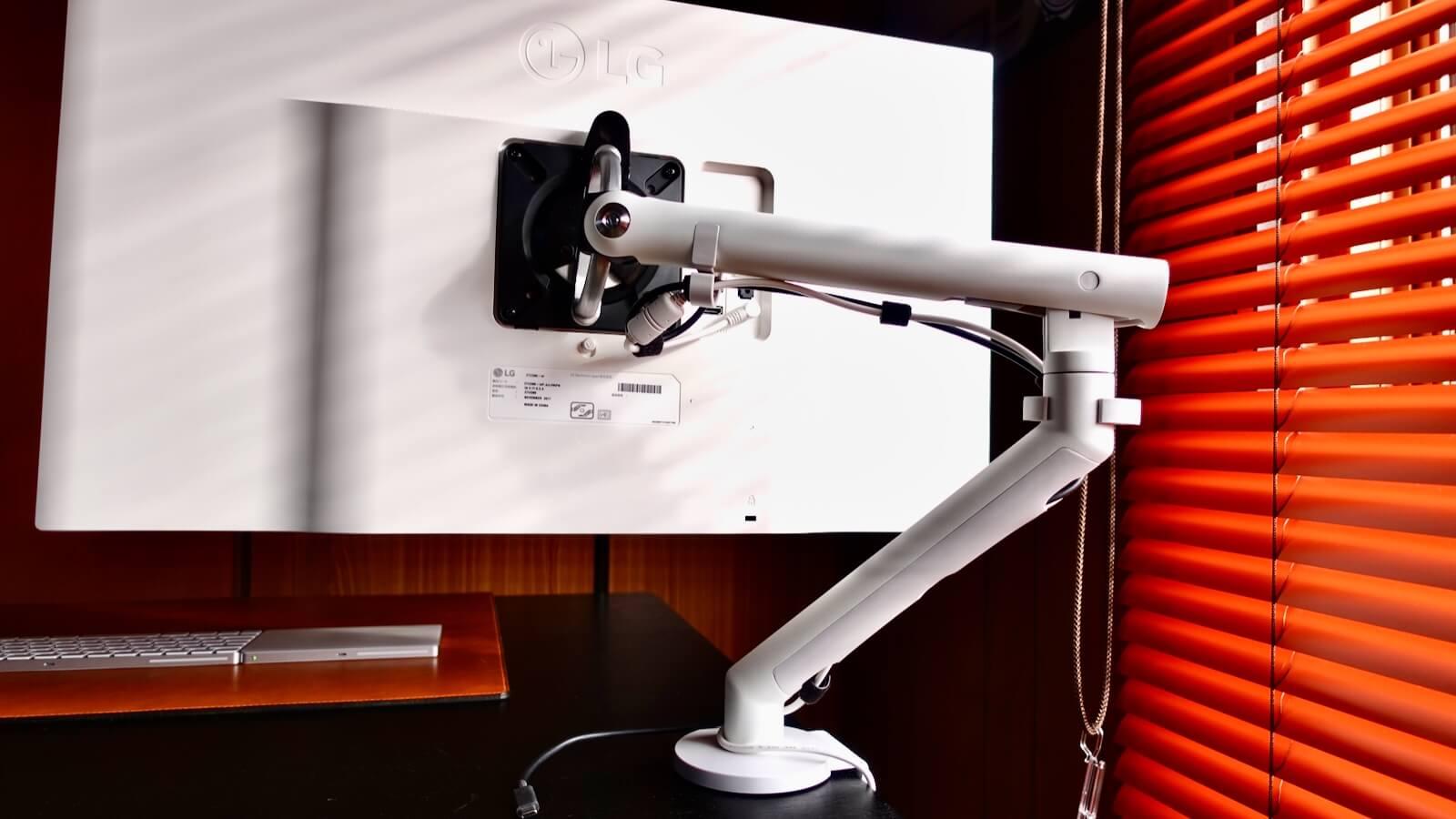 Herman Miller FLO Monitor Arm White