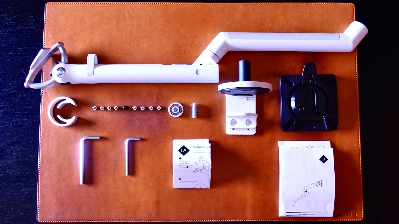 HermanMiller FLO monitor arm components