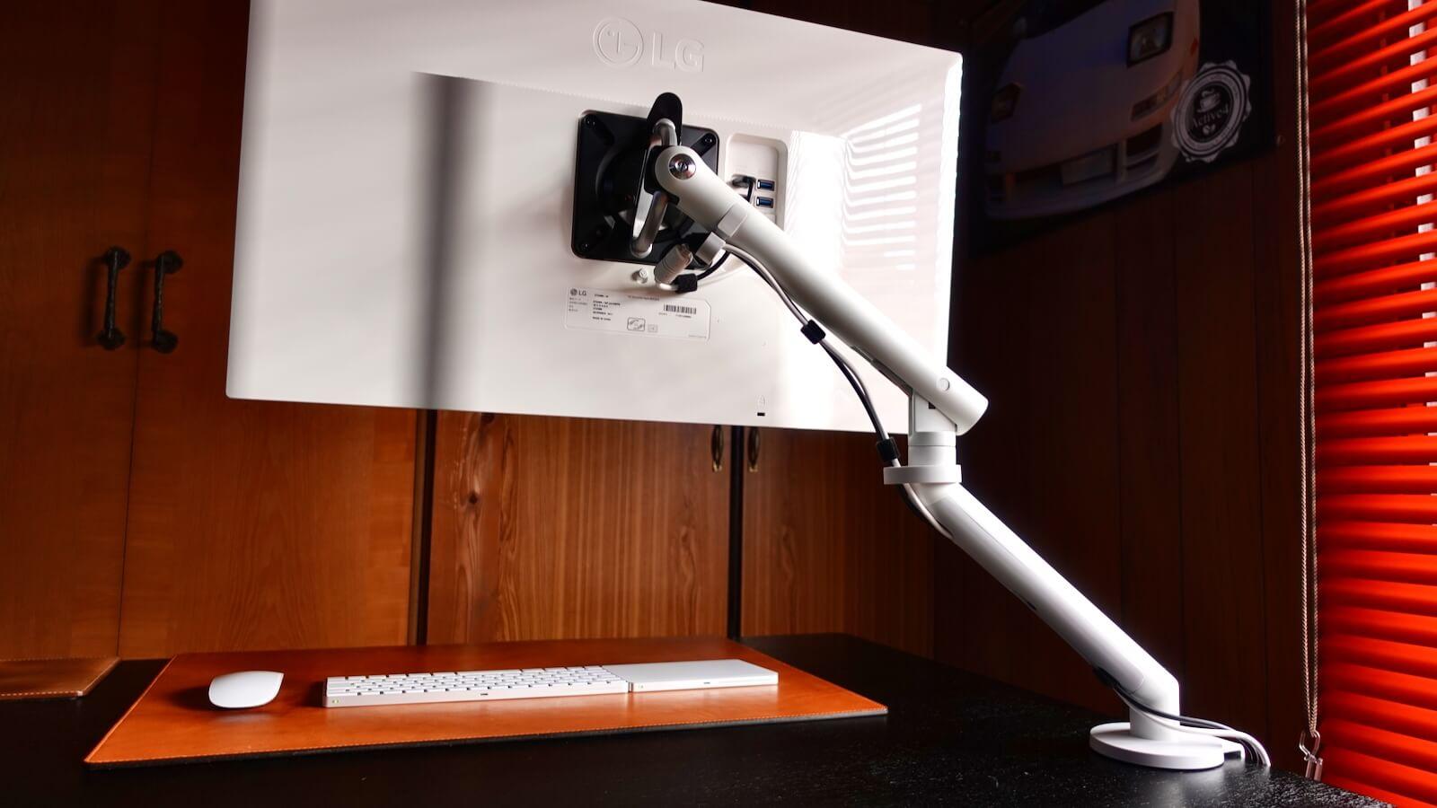 Herman Miller Flo Monitor Arm Operating Range Height 26cm