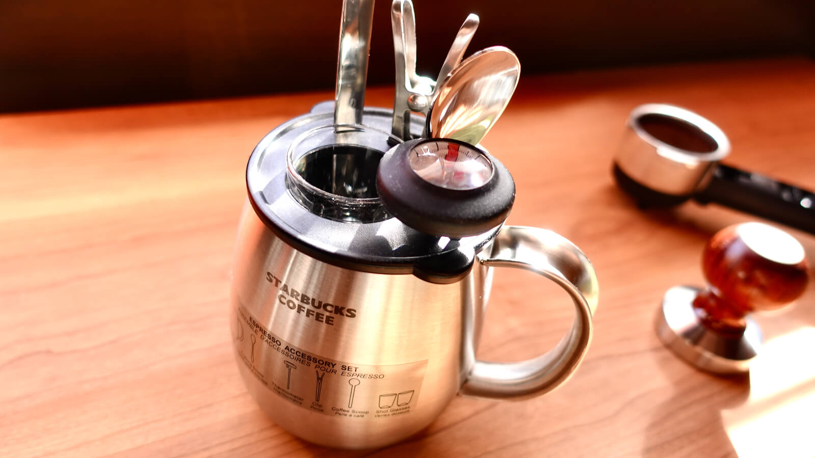 Starbucks Espresso Kit 7-piece set