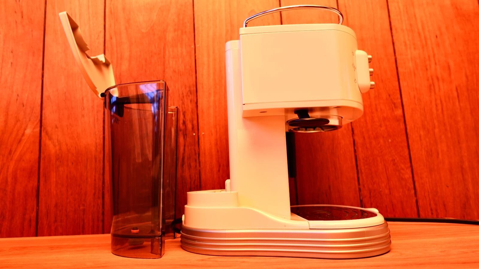 Delonghi espresso machine ECM300J water tank removal