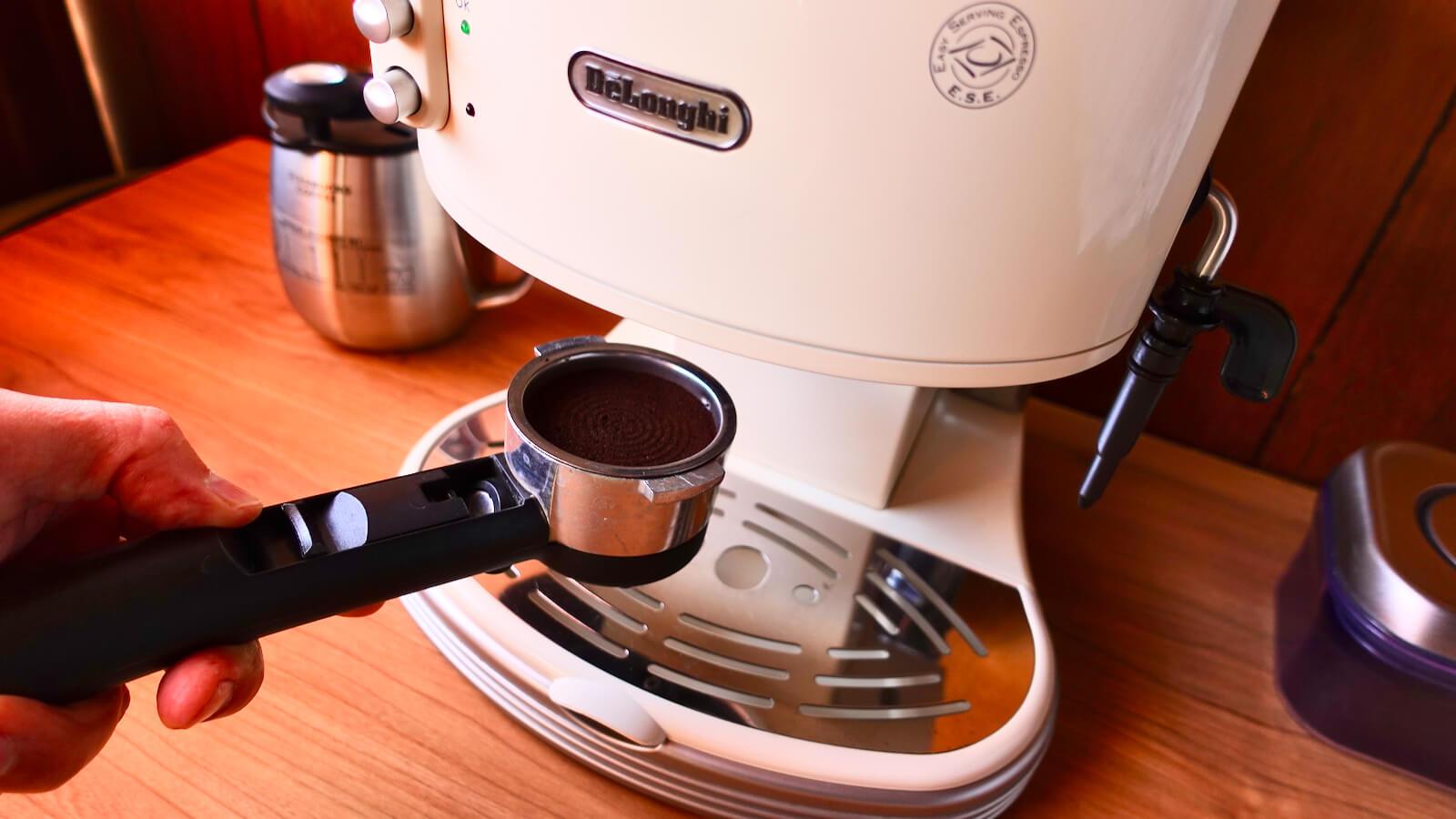 Delonghi Espresso Machine ECM300 Filter Holder Set