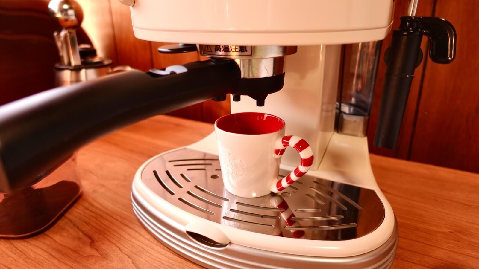 Delonghi espresso machine ECM300J Demitasse cup set photo