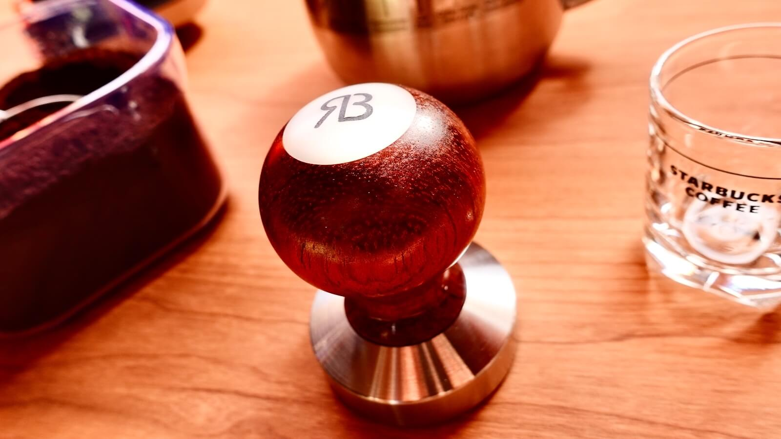 0012 Espresso Tamper Reg Barber Customization