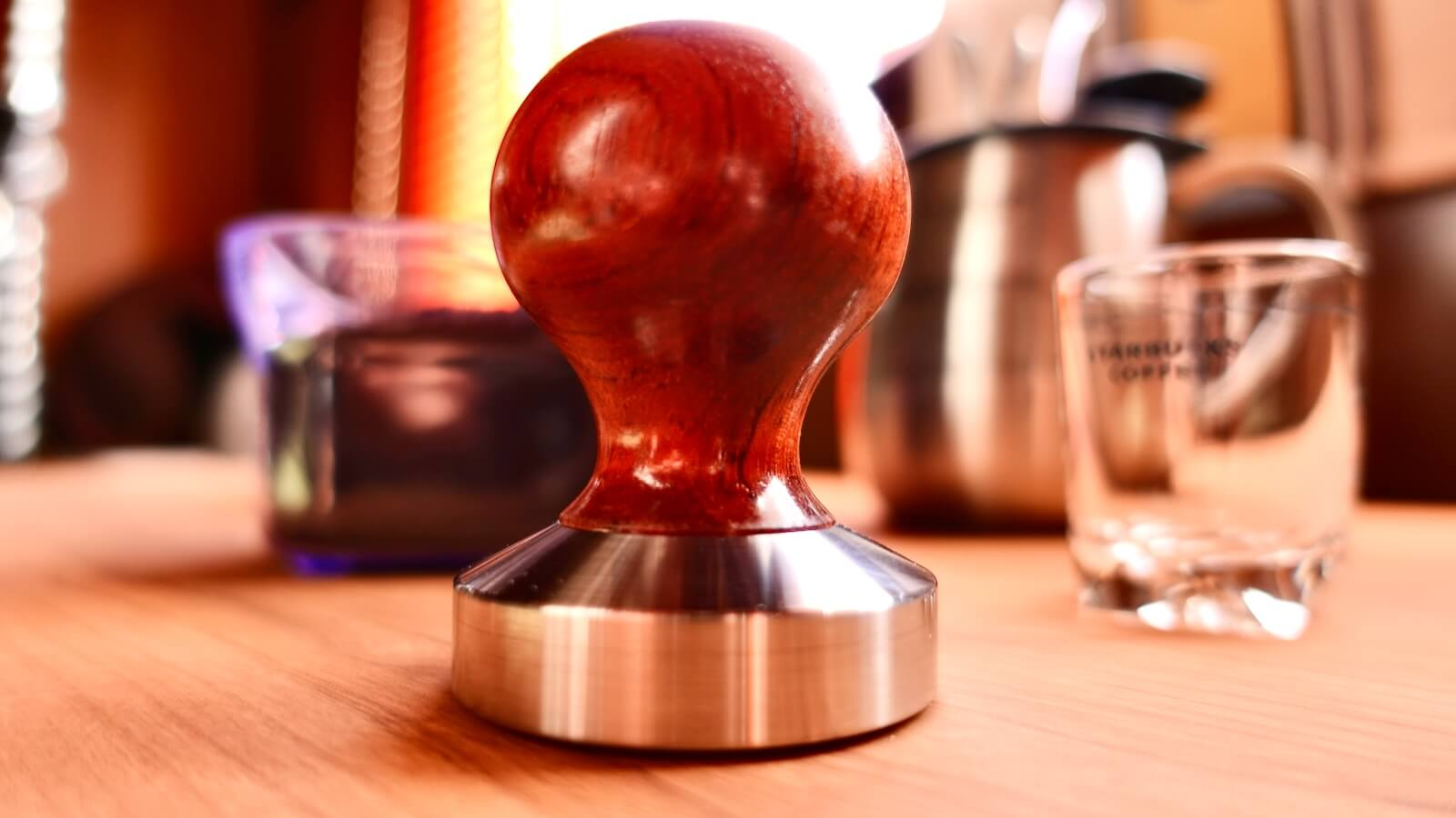 Reg Barber Tamper shape Short ball side view photo