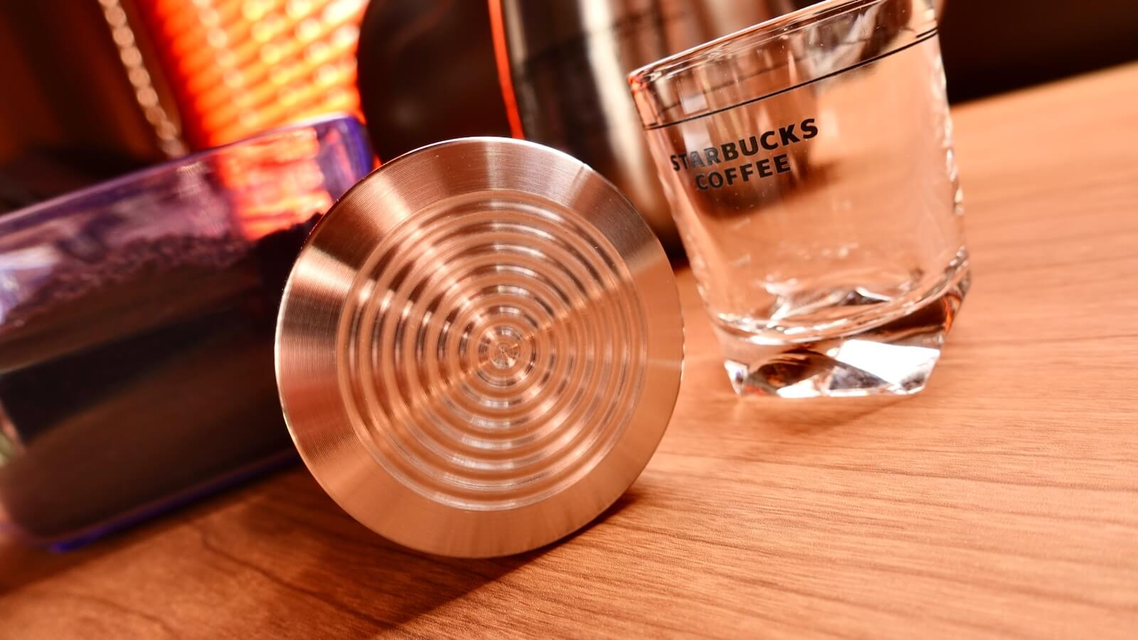 Reg Barber Tamper Base C Ripple from below